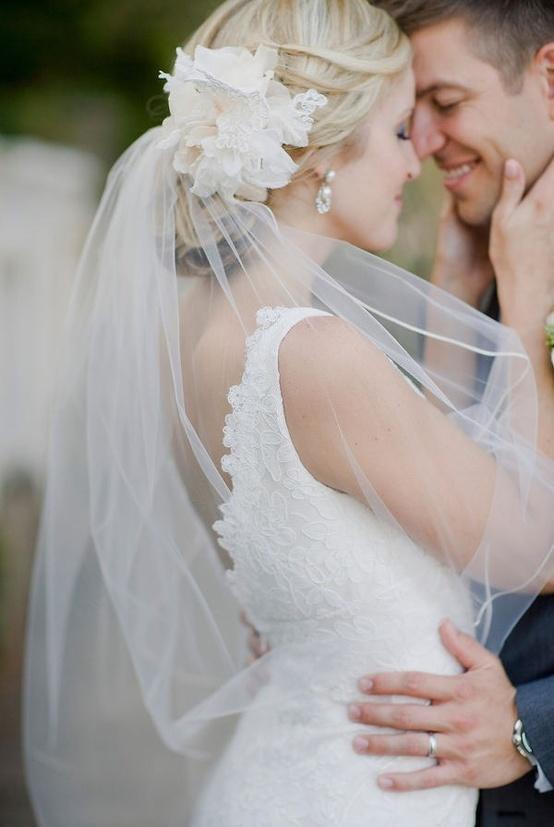 Свадебные прически 2013