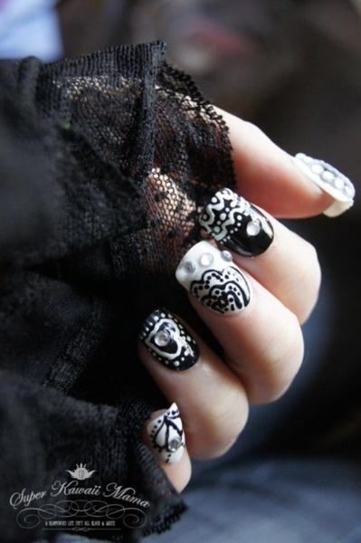 Интересные дизайны ногтей фото