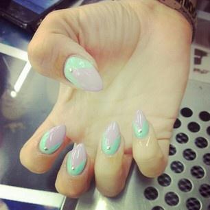 Дизайн ногти стилеты