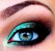 Макияж зеленых глаз