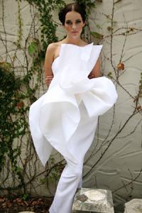 Короткое необычное платье купить