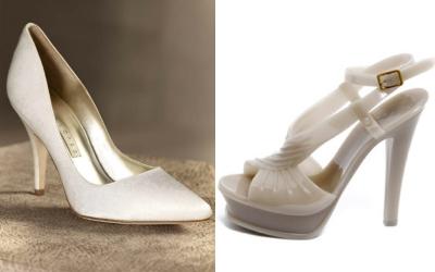 Свадебная обувь 2012