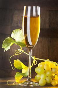 Вкусное белое вино