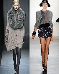 Хотя, казалось бы, вязаный кардиган лучше всего подходит для холодной осенней и зимней погоды, многочисленные модные дизайнеры включили кардиганы и в