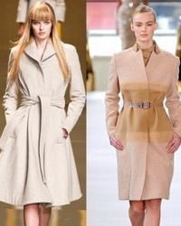 Пальто сезона осень-зима 2012-2013 - модные модели