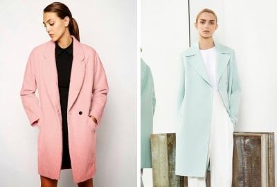 прямые пальто на одной пуговице 2015