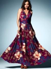 платья макси 2012