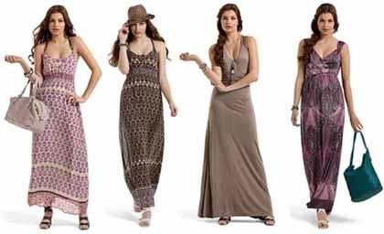 Фото платья и юбки макси