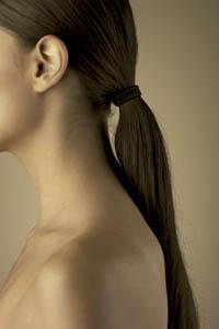 прически для тонких длинных волос