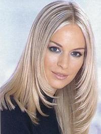 как перекрасить волосы из блонда в седые