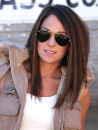 Причёска боб фото на длинные волосы