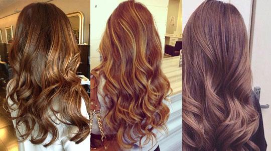 цвет волос молочный шоколад с мелированием фото
