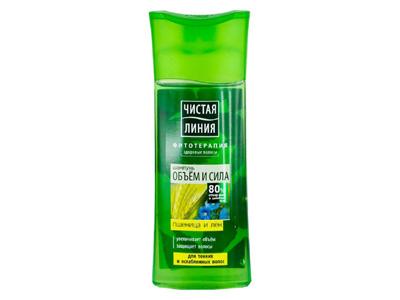 современные средства для тонких волос Чистая Линия