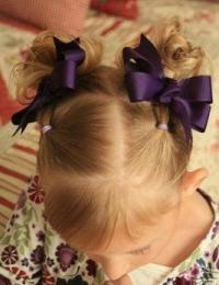 Нарядные прически для коротких волос для девочек