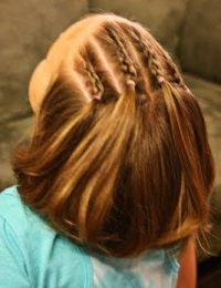 прически на средние волосы девочек