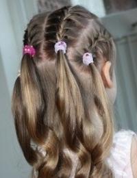 прически на длинные волосы девочек