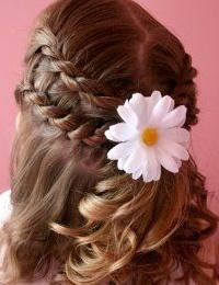 прически для праздника на волосах девочек