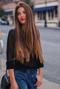 советы для длинных волос