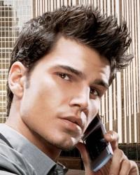 Черный цвет волос у мужчин