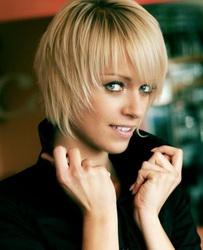 стрижка на редкие прямые волосы