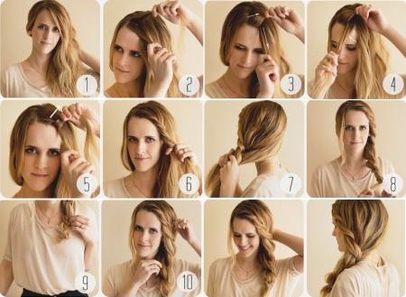 Как сделать красивые волосы в домашних условиях