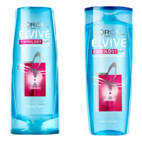 лучшие шампуни L'Oreal Elvive Fibrology Air Volumising Thickening Shampoo & Conditioner