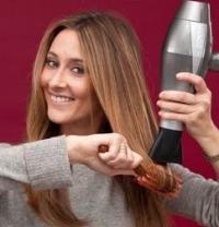 как высушить волосы быстро