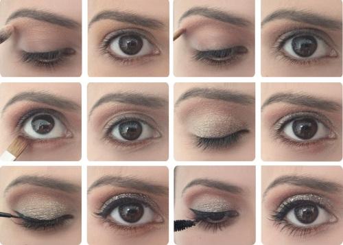 Красиво нанести макияж на глаза