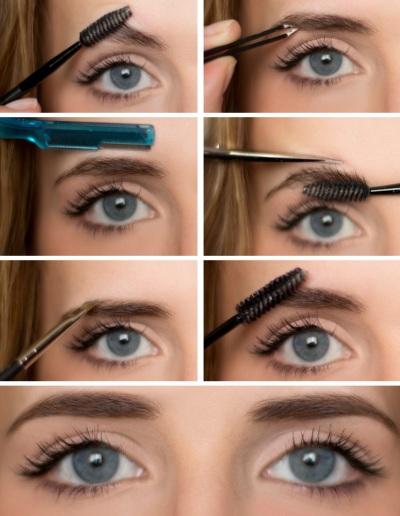 как сделать брови форма фото