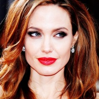 форма бровей по типу лица Анджелина Джоли