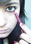 Эмо макияж – эмоции на лице