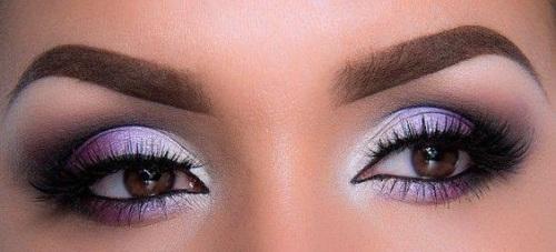 красивый мейк ап для карих глаз