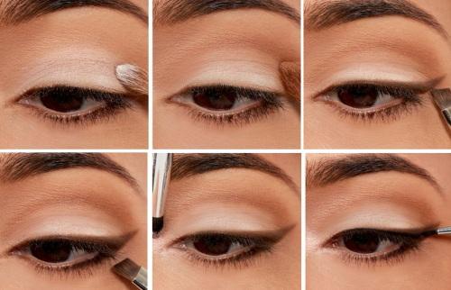 Лёгкий макияж на карие глаза