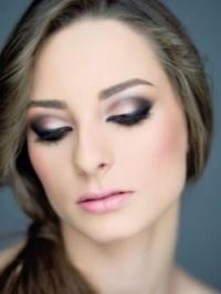 Картинки по запросу вечерний макияж с акцентом на глаза