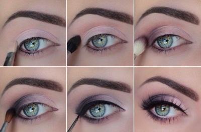 Матовый макияж- пошаговая техника нанесения matte makeup 31