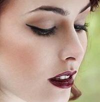макияж бровей с помощью теней