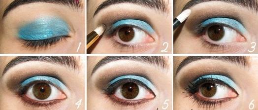 Как сделать тени для глаз
