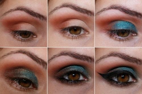 Восточный макияж глаз как сделать