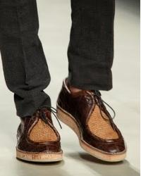 Мужская обувь 2012: традиции и инновации