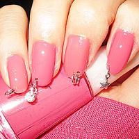 Фото пирсинг на ногтях