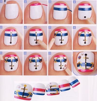 дизайн ногтей домашних условиях фото: