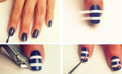 Покраска ногтей гель лаком в домашних условиях, фото и 18