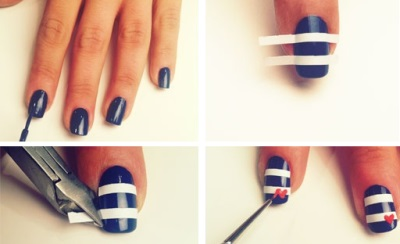 Ногти дизайн на короткие ногти в домашних условиях