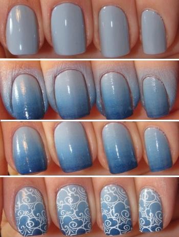 Покраска ногтей гель лаком в домашних условиях, фото и 8