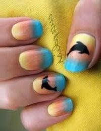 Дизайн ногтей в домашних условиях переход цвета