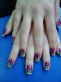 Египетский рисунок на ногтях: модная тенденция