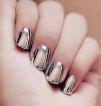 пудра для ногтей зеркальный эффект