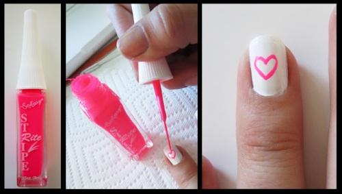 Рисунки на ногтях кисточкой для начинающих фото