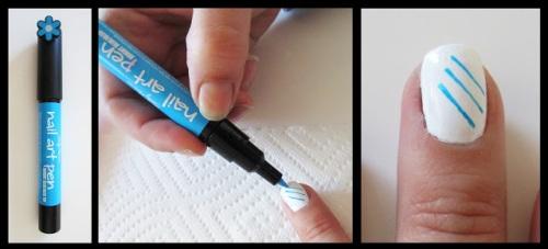 рисунки на ногтях для начинающих ручки