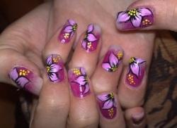 Как сделать мраморный эффект на ногтях